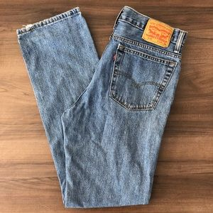 Levi's Vintage 516 Red Tag Straight Leg Jeans